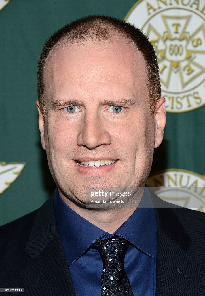 Marvel Studios President Kevin Feige arrives at the ICG 50th Annual Publicists Awards at The Beverly Hilton Hotel on February 22, 2013 in Beverly Hills, California.