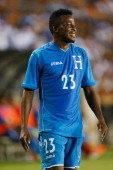 Marvin Chavez of Honduras in action during their Road to Brazil match against Isreal at BBVA Compass Stadium on June 1 2014 in Houston Texas