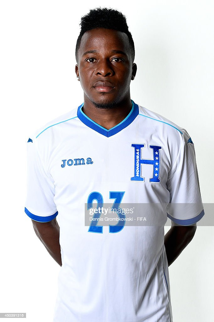 Marvin Chavez of Honduras poses during the Official FIFA World Cup 2014 portrait session on June 10, 2014 in Porto Feliz, Brazil.