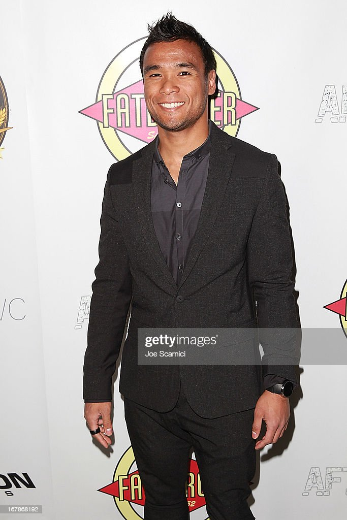 Marvin Estrellado arrives at the 'AFTERSHOCK' premiere presented by Dimension Films and RADiUS-TWC in partnership with Fatburger at on May 1, 2013 in Los Angeles, California.