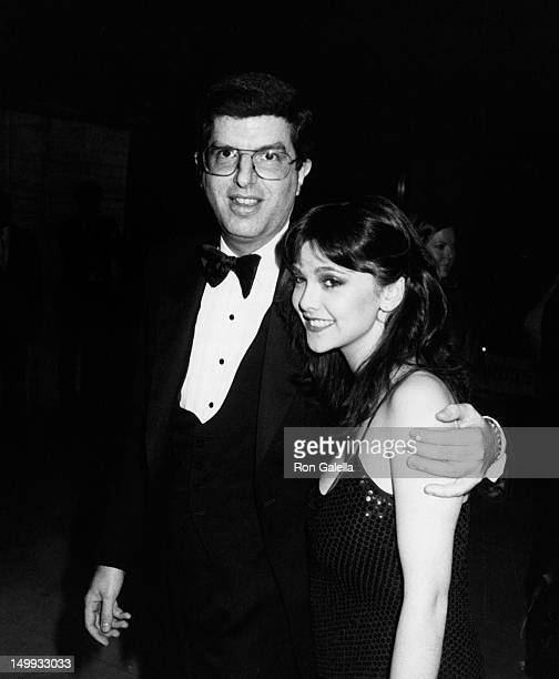 Marvin Hamlisch and Emma Samms attend Tribute Gala Honoring John Huston on May 5 1980 at Lincoln Center in New York City