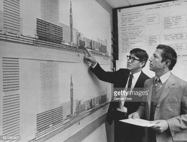 Marvin Hatami Left And Floyd Tanaka Show Design Concepts They are consultants to the Denver Urban Renewal Authority on Skyline project and advocate...