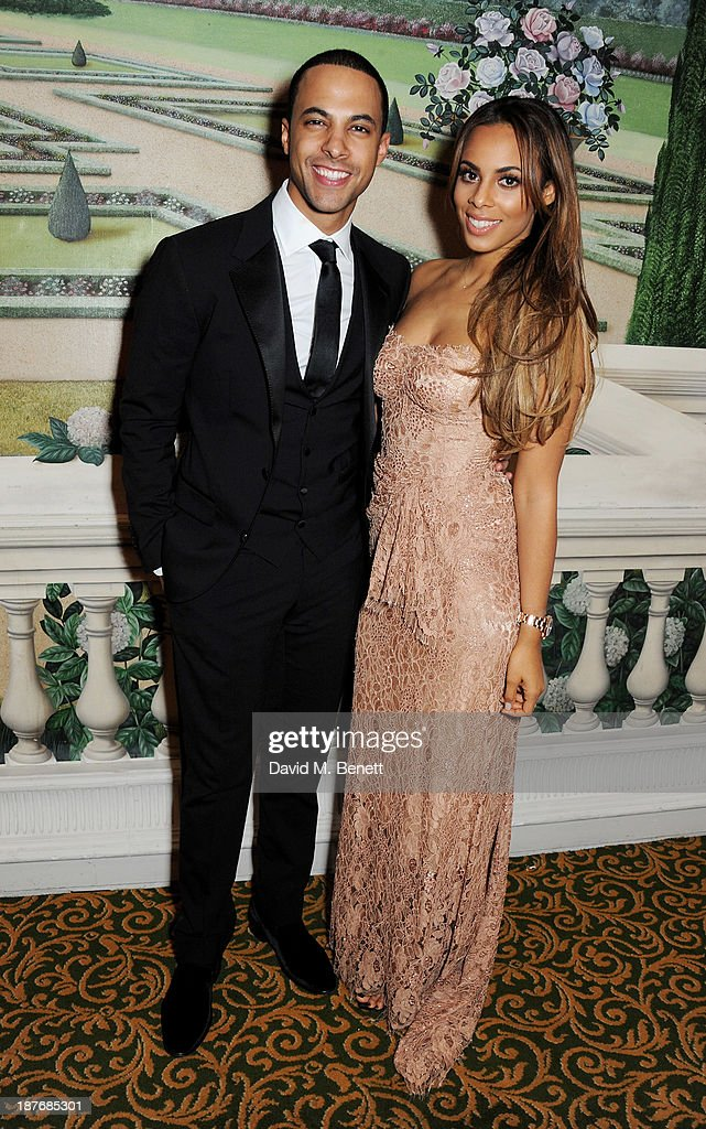 <a gi-track='captionPersonalityLinkClicked' href=/galleries/search?phrase=Marvin+Humes&family=editorial&specificpeople=2887070 ng-click='$event.stopPropagation()'>Marvin Humes</a> (L) and Rochelle Humes attend the BBC Children in Need Gala hosted by Gary Barlow at The Grosvenor House Hotel on November 11, 2013 in London, England.