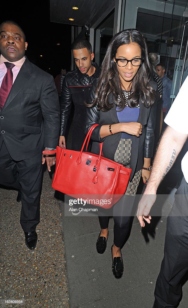 <a gi-track='captionPersonalityLinkClicked' href=/galleries/search?phrase=Marvin+Humes&family=editorial&specificpeople=2887070 ng-click='$event.stopPropagation()'>Marvin Humes</a> and <a gi-track='captionPersonalityLinkClicked' href=/galleries/search?phrase=Rochelle+Wiseman&family=editorial&specificpeople=2118967 ng-click='$event.stopPropagation()'>Rochelle Wiseman</a> sighting at Riverside Studios on February 27, 2013 in London, England.