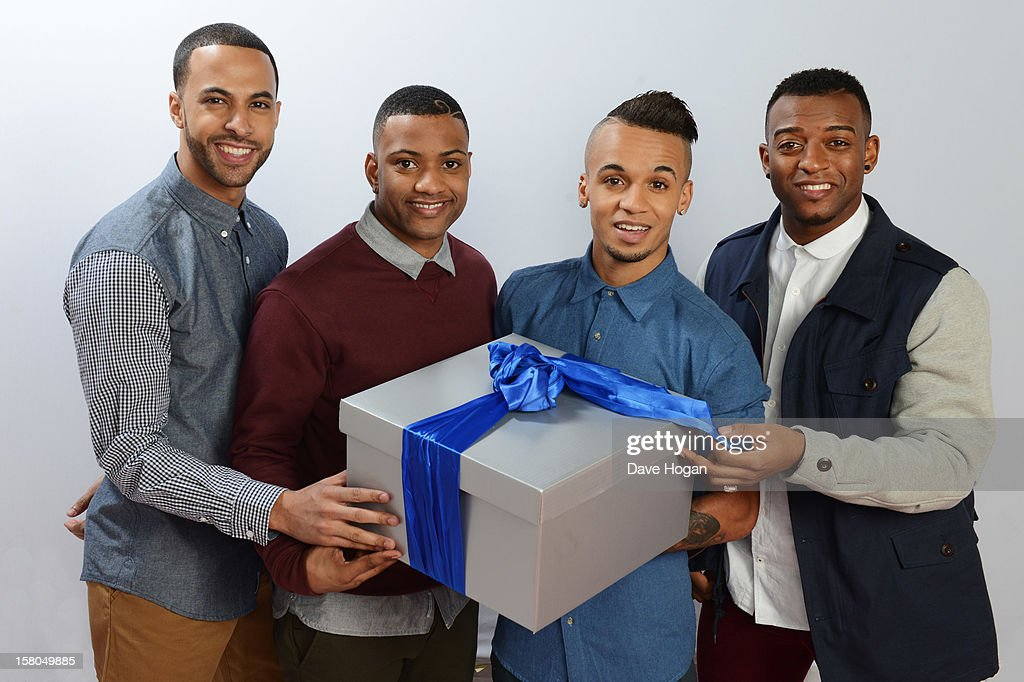 <a gi-track='captionPersonalityLinkClicked' href=/galleries/search?phrase=Marvin+Humes&family=editorial&specificpeople=2887070 ng-click='$event.stopPropagation()'>Marvin Humes</a>, JB Gill, <a gi-track='captionPersonalityLinkClicked' href=/galleries/search?phrase=Aston+Merrygold&family=editorial&specificpeople=5739699 ng-click='$event.stopPropagation()'>Aston Merrygold</a> and Ortise Williams of JLS pose for a portrait at The Capital FM Jingle Bell Ball at The O2 Arena on December 9, 2012 in London, England.
