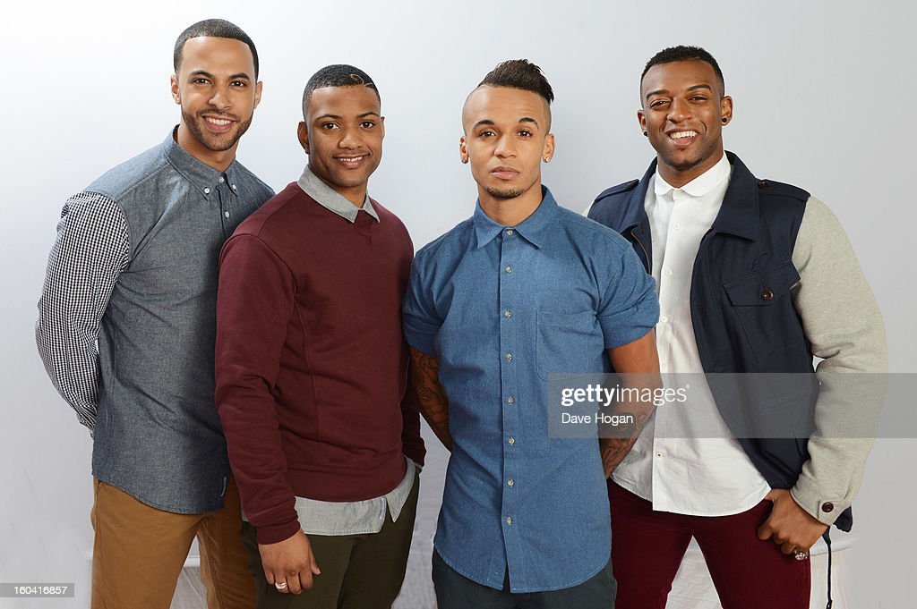 <a gi-track='captionPersonalityLinkClicked' href=/galleries/search?phrase=Marvin+Humes&family=editorial&specificpeople=2887070 ng-click='$event.stopPropagation()'>Marvin Humes</a>, JB Gill, <a gi-track='captionPersonalityLinkClicked' href=/galleries/search?phrase=Aston+Merrygold&family=editorial&specificpeople=5739699 ng-click='$event.stopPropagation()'>Aston Merrygold</a> and Ortise Williams of JLS pose for a portrait on December 8, 2012 in London, England.
