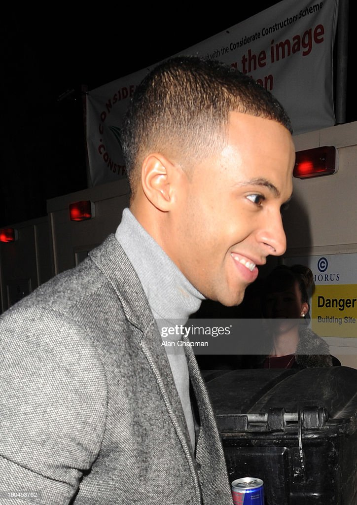 <a gi-track='captionPersonalityLinkClicked' href=/galleries/search?phrase=Marvin+Humes&family=editorial&specificpeople=2887070 ng-click='$event.stopPropagation()'>Marvin Humes</a> sighting on January 31, 2013 in London, England.