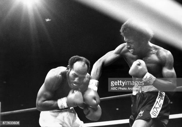 Marvin Johnson Michael Spinks boxing at Steel Pier March 8 1981
