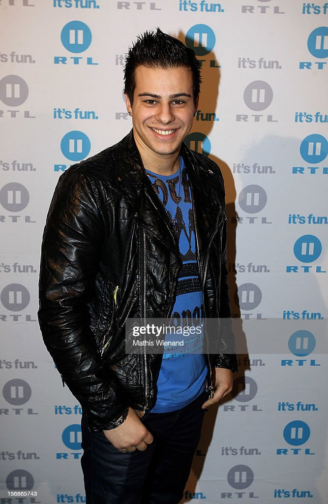 Marvin Kunze attends the 'Koeln 50667' Press Conference at the Kunstbar on November 23, 2012 in Cologne, Germany.