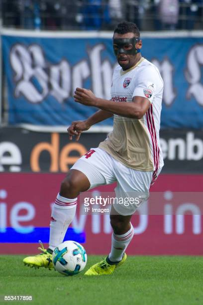 Marvin Matip of Ingolstadt controls the ball during the Second Bundesliga match between VfL Bochum 1848 and FC Ingolstadt 04 at Vonovia Ruhrstadion...