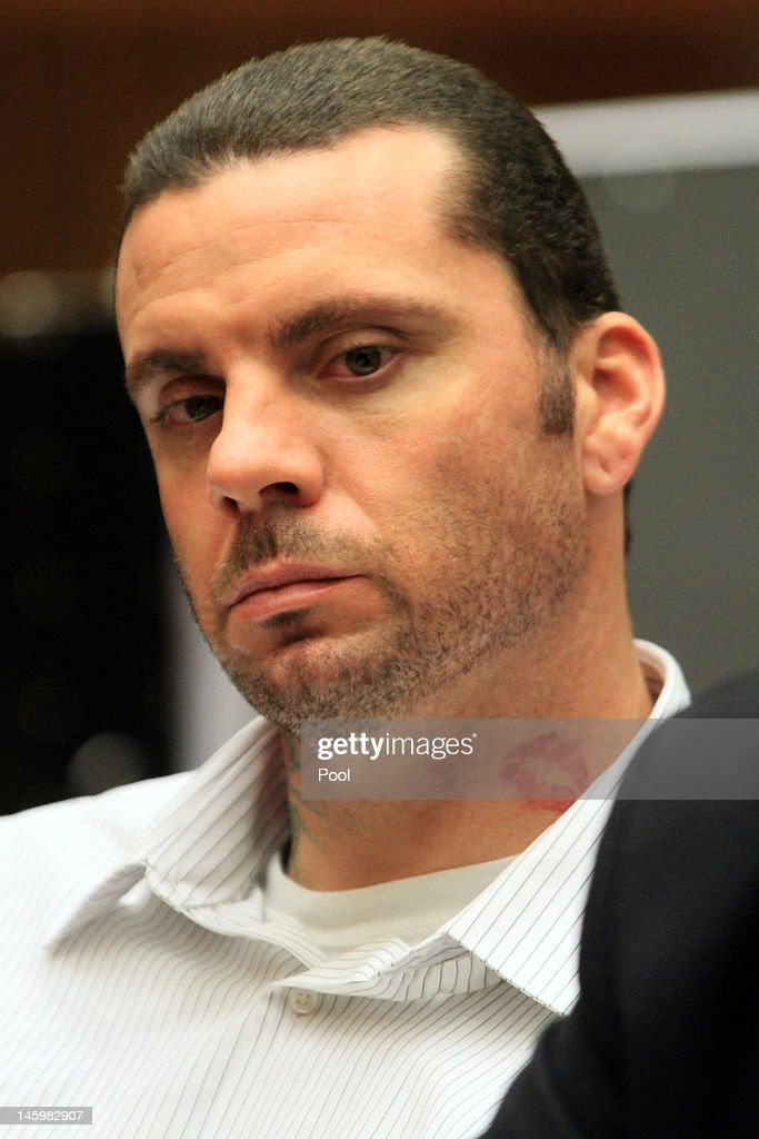 Marvin Norwood listens during preliminary proceedings in Superior Court June 8, 2012. in Los Angeles, California. Superior Court judge George G. Lomeli has ordered Norwood and co-defendant Louie Sanchez to stand trial on charges they assaulted San Francisco Giants fan Bryan Stow at Dodger Stadium in 2011. The decision caps a six-day preliminary hearing that included dramatic testimony from witnesses who recalled Stow being assaulted as well as a recording of Norwood admitting to his mother that he was 'involved' in the opening day beating.