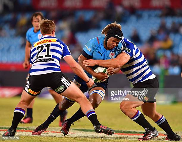 Marvin Orie of the Blue Bulls during the Currie Cup match between Vodacom Blue Bulls and DHL Western Province at Loftus Versveld on August 05 2016 in...