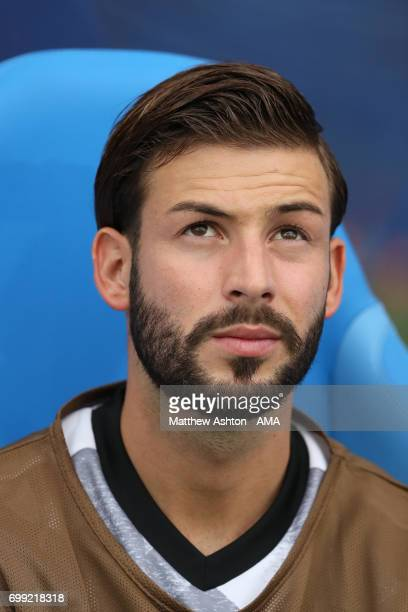 Marvin Plattenhardt of Germany during the FIFA Confederations Cup Russia 2017 Group B match between Australia and Germany at Fisht Olympic Stadium on...