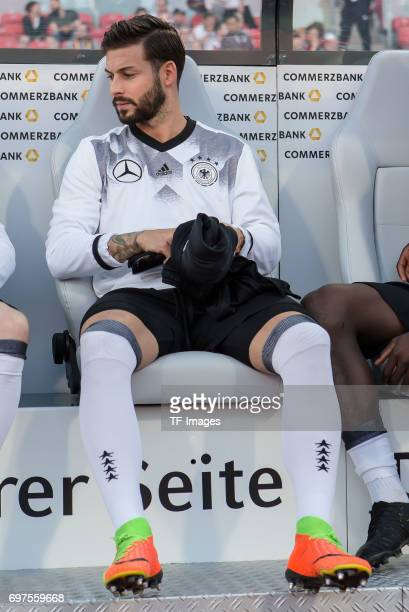 Marvin Plattenhardt of Germany looks on during the FIFA 2018 World Cup Qualifier between Germany and San Marino at Stadion Nuernberg on June 10 2017...