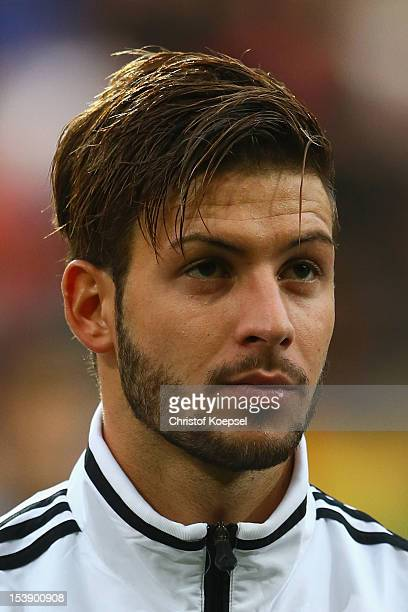 Marvin Plattenhardt of Germany poses prior to the Under 20 International Friendly match between Germany and Italy at TivoliStadium on October 10 2012...