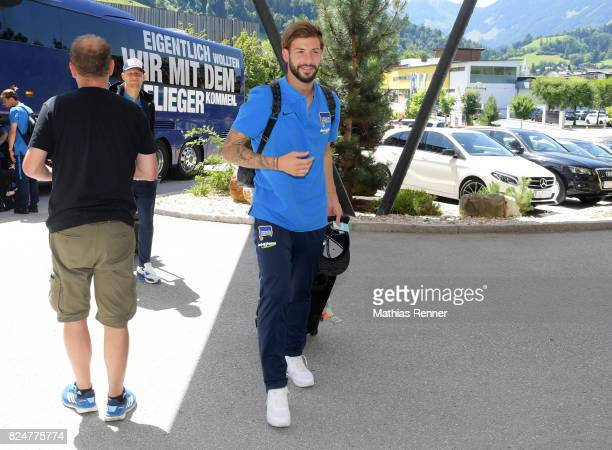 Marvin Plattenhardt of Hertha BSC during a training camp on July 31 2017 in Schladming Austria