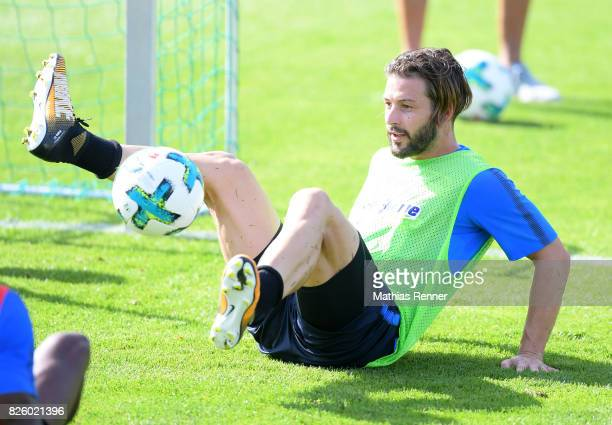 Marvin Plattenhardt of Hertha BSC during the training camp on august 3 2017 in Schladming Austria