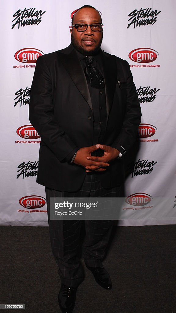 Marvin Sapp attends the 28th Annual Stellar Awards at Grand Ole Opry House on January 19, 2013 in Nashville, Tennessee.