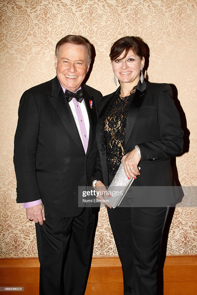 Marvin Scott and <a gi-track='captionPersonalityLinkClicked' href=/galleries/search?phrase=Maria+Bartiromo&family=editorial&specificpeople=242903 ng-click='$event.stopPropagation()'>Maria Bartiromo</a> attend the 2014 Ellis Island Medals Of Honor at Ellis Island on May 10, 2014 in New York City.