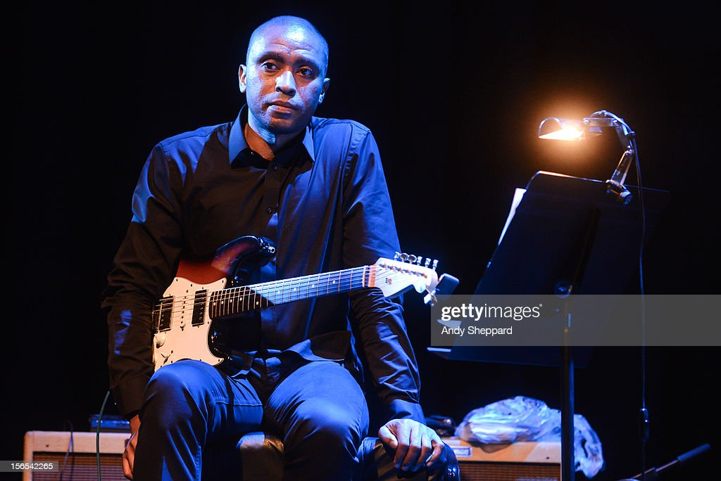 Marvin Sewell performs on stage with Jack DeJohnette Group at Queen Elizabeth Hall during the London Jazz Festival 2012 on November 16, 2012 in London, United Kingdom.