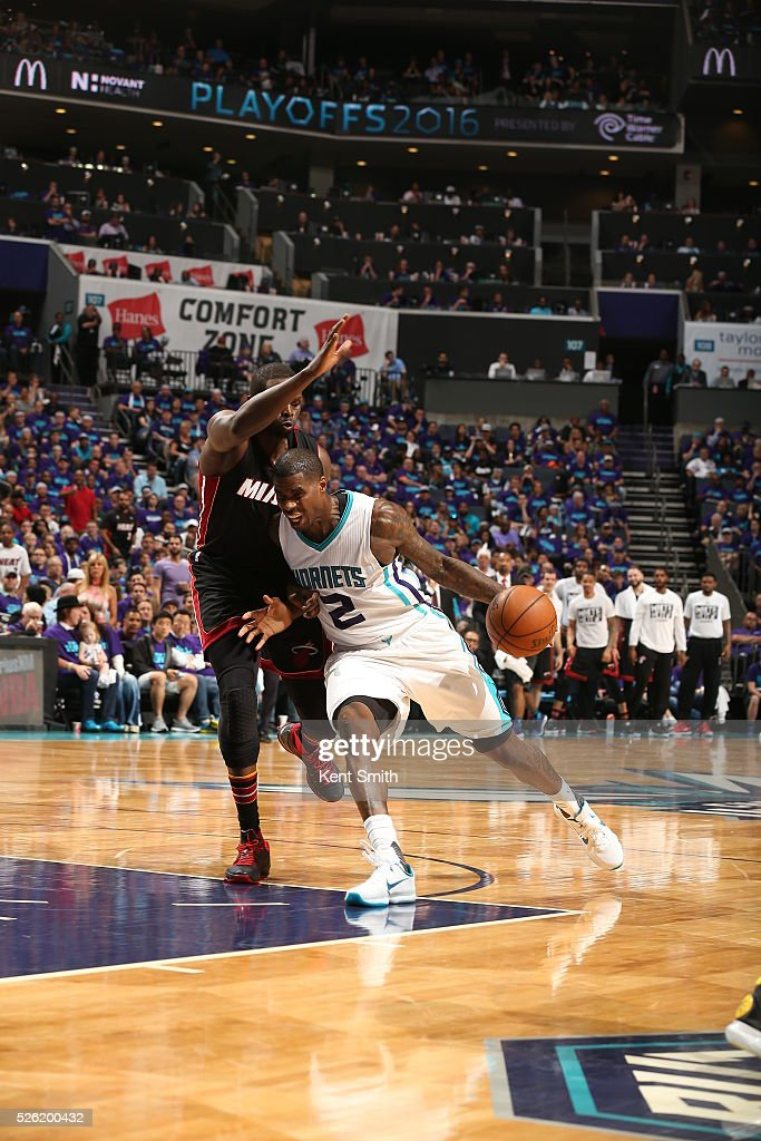 <a gi-track='captionPersonalityLinkClicked' href=/galleries/search?phrase=Marvin+Williams&family=editorial&specificpeople=206784 ng-click='$event.stopPropagation()'>Marvin Williams</a> #2 of the Charlotte Hornets drives to the basket against the Miami Heat in Game Six of the Eastern Conference Quarterfinals during the 2016 NBA Playoffs on April 29, 2016 at Time Warner Cable Arena in Charlotte, North Carolina.