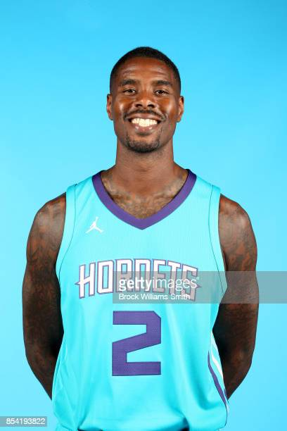 Marvin Williams of the Charlotte Hornets poses for a head shot during media day at Spectrum Center in Charlotte North Carolina NOTE TO USER User...