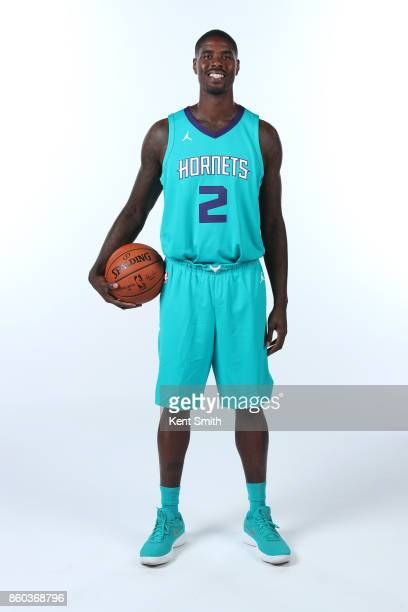 Marvin Williams of the Charlotte Hornets poses for a portrait during media day on September 25 2017 at Spectrum Center in Charlotte North Carolina...
