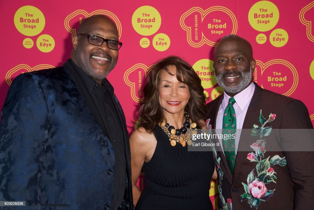 Marvin Winans, Freda Payne and BeBe Winans attend the Opening Night Of 'Born For This' at The Broad Stage on July 20, 2017 in Santa Monica, California.