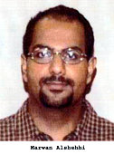 Marwan AlShehhi one of the suspected hijackers of United Airlines that crashed in rural southwest Pennsylvania on September 11 2001 during a terror...