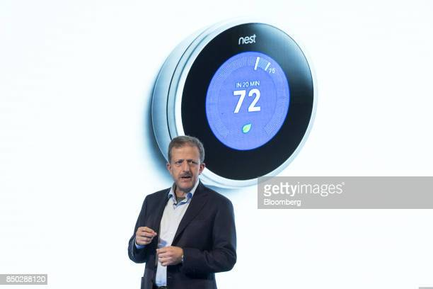Marwan Fawaz chief executive officer of Nest Labs Inc speaks during an event in San Francisco California US on Wednesday Sept 20 2017 Alphabet Inc's...