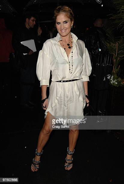 Mary Alice Haney arrives at the Chanel And Charles Finch PreOscar Party Celebrating Fashion And Film at Madeo Restaurant on March 6 2010 in Los...