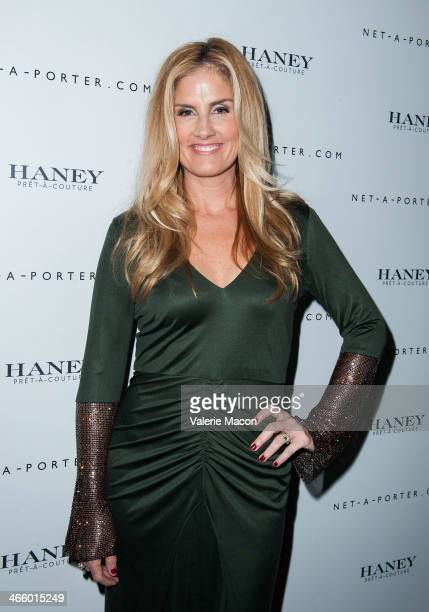 Mary Alice Haney arrives at the Haney Launch Party With NetAPorter at mmhmmm at The Standard Hollywood on January 30 2014 in Hollywood California