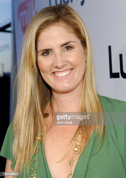 Mary Alice Haney during Lucky Magazine Hosts Party to Celebrate LA Shopping Guide at Milk Boutique at Milk Boutique in Los Angeles California United...