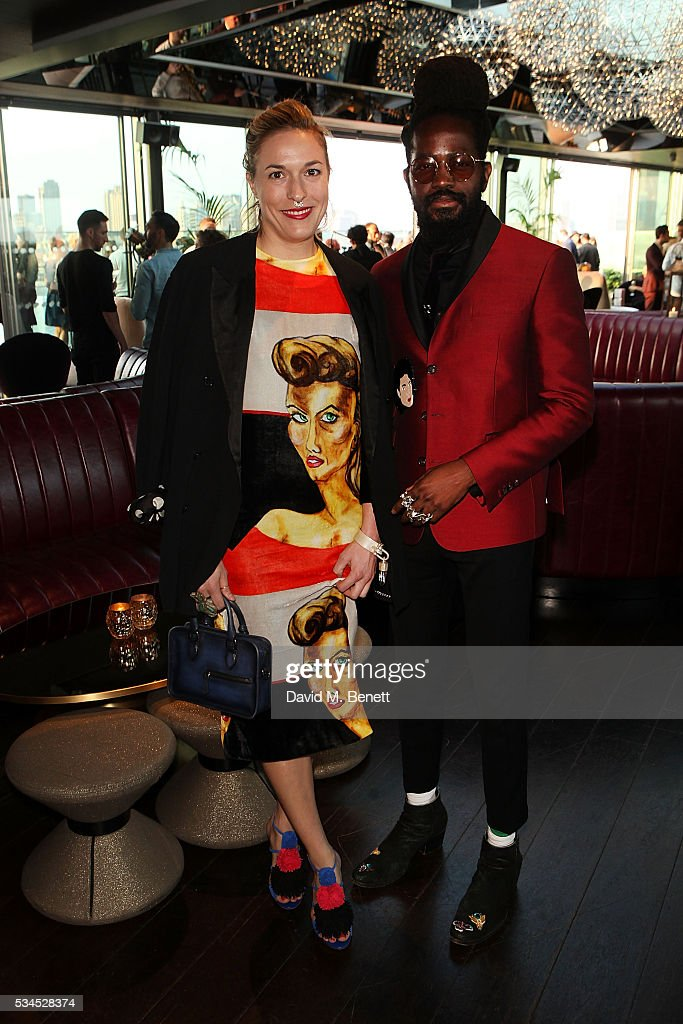 Mary Alice Malone and Roy Luwolt attend the Spring Fling at Mondrian London on May 26, 2016 in London, England.
