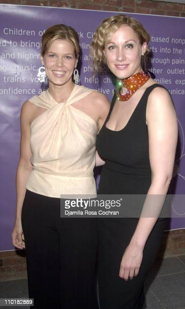 Mary Alice Stephenson and Amy Sacco during 'One of a Kind' Celebrity Art Auction to Benefit Free Arts of NYC at Chelsea Art Museum in New York City...