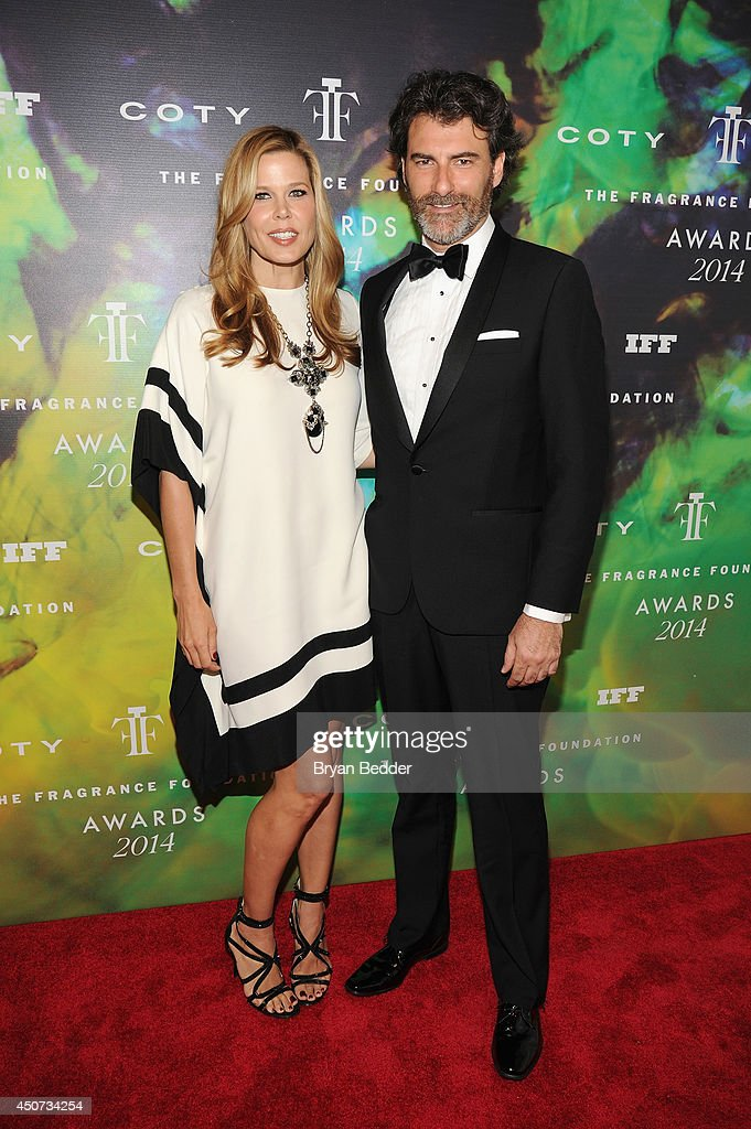 Mary Alice Stephenson and guest attend the 2014 Fragrance Foundation Awards on June 16, 2014 in New York City.