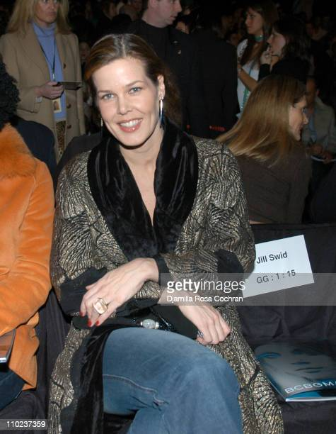 Mary Alice Stephenson at BCBG Max Azria during Olympus Fashion Week Fall 2005 BCBG Max Azria Front Row at Bryant Park in New York City New York...