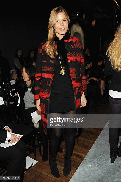 Mary Alice Stephenson attends Jason Wu fashion show during MercedesBenz Fashion Week Fall 2014 on February 7 2014 in New York City
