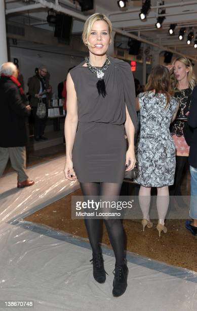 Mary Alice Stephenson attends the Peter Som Fall 2012 fashion show during MercedesBenz Fashion Week at Milk Studios on February 10 2012 in New York...