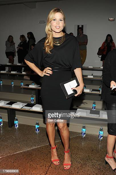 Mary Alice Stephenson attends the Peter Som Spring 2014 fashion show during MercedesBenz Fashion Week at Milk Studios on September 6 2013 in New York...