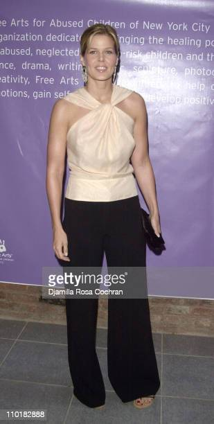 Mary Alice Stephenson during 'One of a Kind' Celebrity Art Auction to Benefit Free Arts of NYC at Chelsea Art Museum in New York City New York United...
