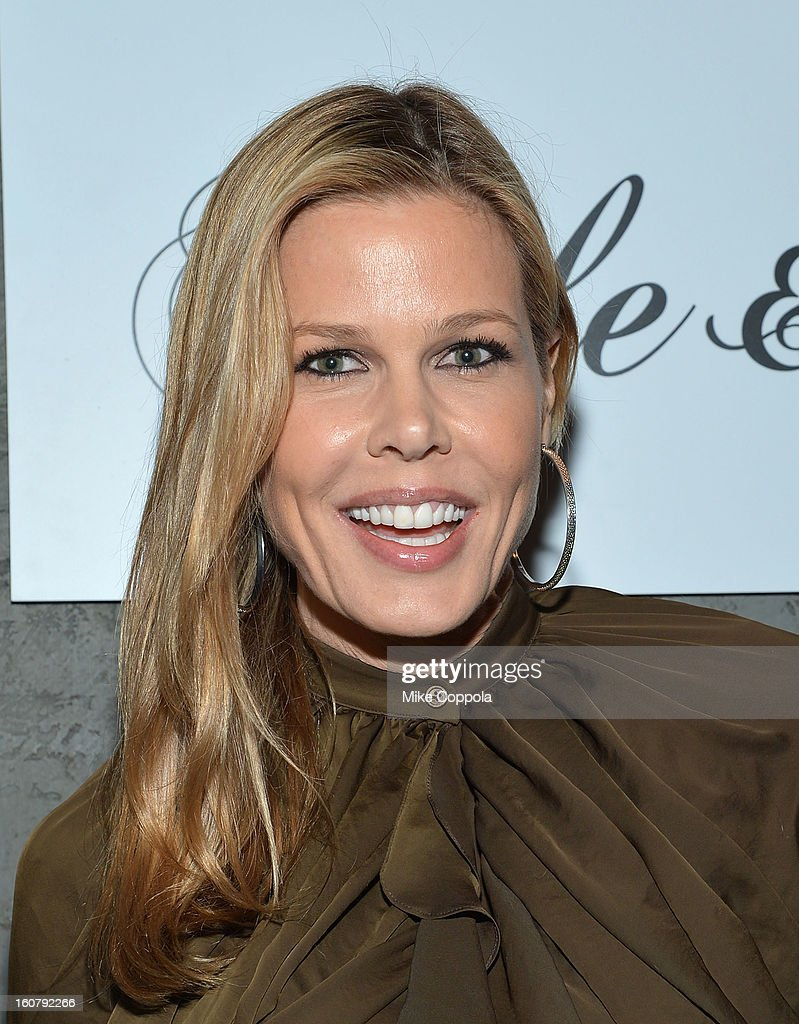 Mary Alice Stephenson poses for a picture as he Celebrates The New JohnVarvatos.com on February 5, 2013 in New York City.