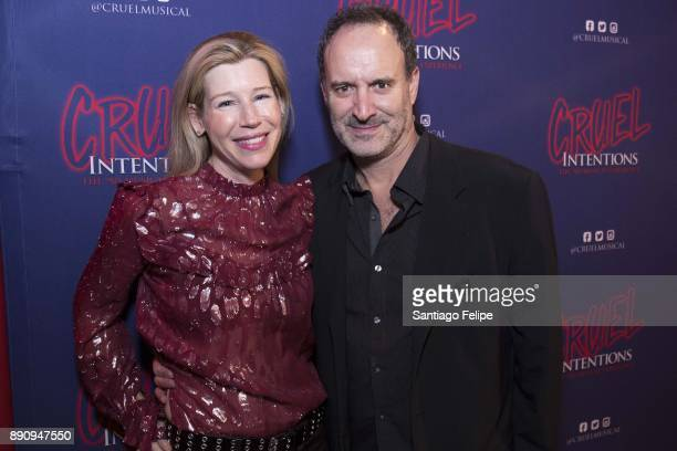 Mary and Roger Kumble attend 'Cruel Intentions' The 90's Musical Experience at Le Poisson Rouge on December 11 2017 in New York City