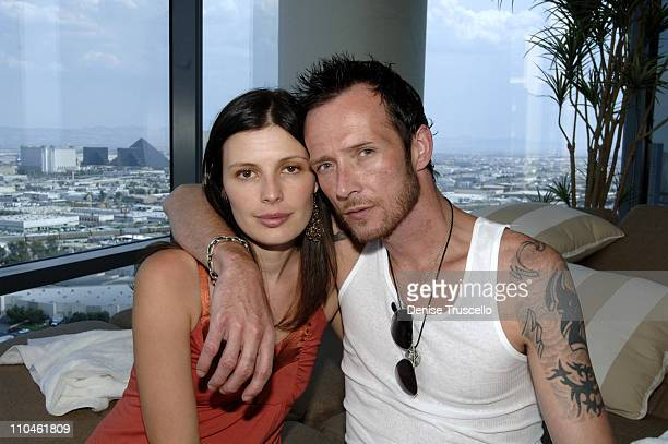 Mary and Scott Weiland during Fantasy Suite Gifting Lounge Hosted By The Palms Hotel and Casino Resort and 944 Magazine at The Palms Hotel and Casino...