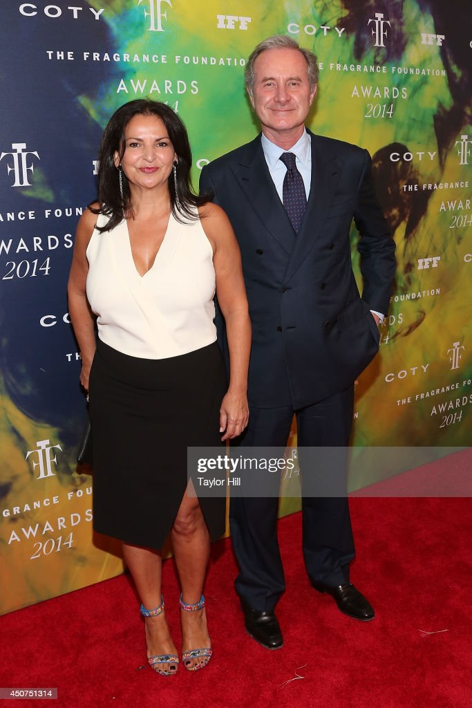 Mary Ann Freda and Fabrizio Freda attend 2014 Fragrance Foundation awards at Alice Tully Hall, Lincoln Center on June 16, 2014 in New York City.