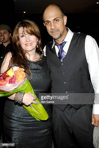 Mary Apick and Anthony Azizi attend 'Beneath the Veil' at Alice Tully Hall Lincoln Center on April 25 2010 in New York City