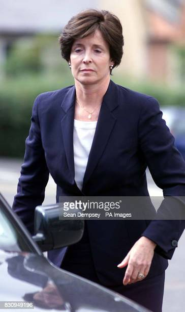 Mary Archer leaving the the Employment Tribunal in Bury St Edmunds Suffolk The wife of disgraced peer Lord Archer today told an employment tribunal...