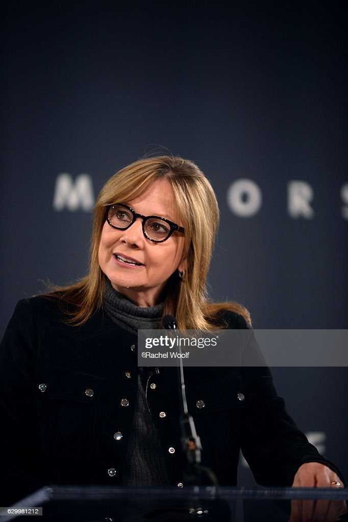 General Motors CEO Mary Barra Holds News Conference
