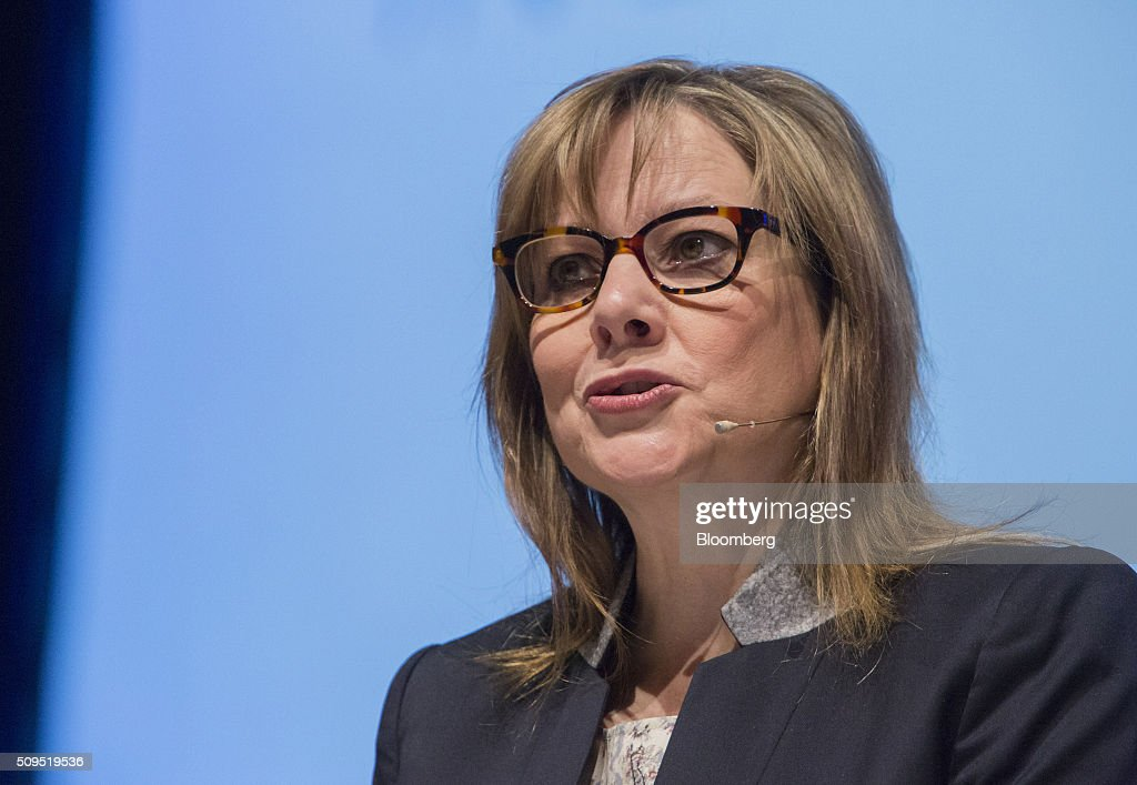 General Motors Co. Chief Executive Officer Mary Barra and ...