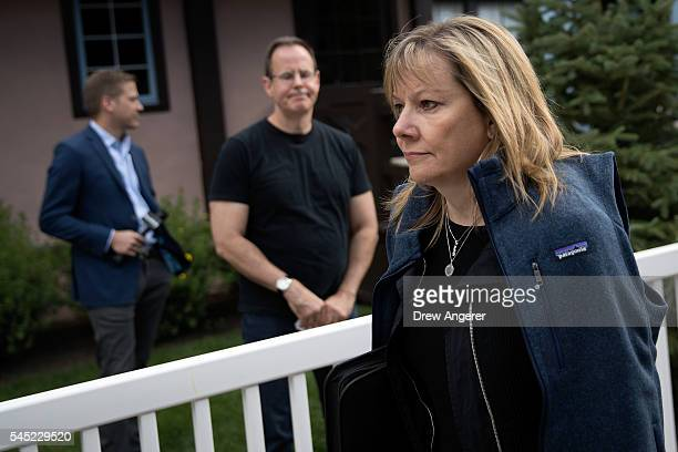 Mary Barra chief executive officer of General Motors Company attends the annual Allen Company Sun Valley Conference July 6 2016 in Sun Valley Idaho...